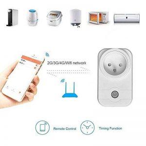 CITTATREND Prise Télécommandée Connecté Wi-Fi Wifi Internet Sans Fil Smart Socket Plug Programmable pour Smartphone APP Android iOS de la marque CITTATREND image 0 produit