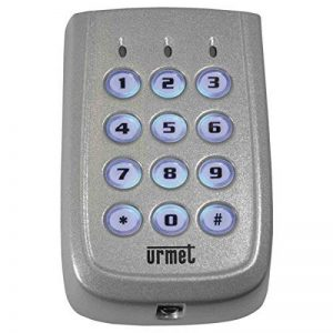 clavier à code - zamak - 2 relais - urmet 141212 de la marque Urmet image 0 produit