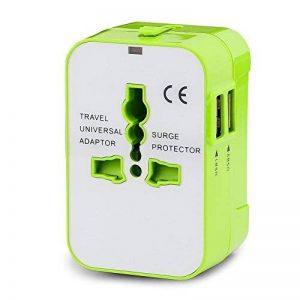 Cocohot Voyage Adaptateur International avec Double Chargeur USB US / EU / UK / AUS Universel Prise de Courant Tout en un Multi-Nation Multi-prise daptateur et Chargeur de la marque Cocohot image 0 produit