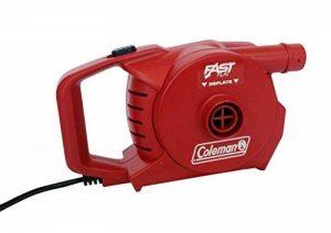 Coleman Pompe Electrique sur Secteur pour Gonfler et DéGonfler Quickpump 230V de la marque COLEMAN image 0 produit