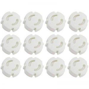 Com-Four Cache-prise–Protection optimale pour bébés et enfants 12 Stück de la marque com-four image 0 produit