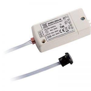 Commutateur de capteur infrarouge-HoneyFly BHIRH-250A 250W Tension 100-240V lampes intelligentes interrupteur de détection de mouvement IP20 5-10cm utilisé hors du cabinet, en travaillant à la main en mouvement, max. 70W pour LEDs, 24 heures de service de image 0 produit