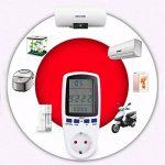 Compteur D'énergie AC 230V ~ 250V Avec Écran LCD Pour Consommation Consommateur Compteur Watt Tension Amp Meter Calculator Analyzer de la marque Qwhome image 1 produit