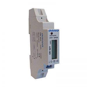 Compteur électrique compteur numérique Compteur électrique wattmètre 230V 5(40) A de la marque Orno image 0 produit