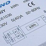 Compteur électrique compteur numérique Compteur électrique wattmètre 230V 5(40) A de la marque Orno image 1 produit