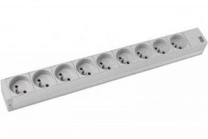 CONECTICPLUS Multiprise électrique rackable 19' 9 prises sans interrupteur 1.50m de la marque CONECTICPLUS image 0 produit