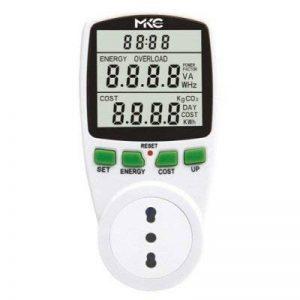 Contrôleur de consommation électrique pour appareils électroménagers ou dispositifs électriques–Prise italienne 16A/Adaptateur 10–16A de la marque MKC image 0 produit
