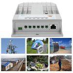 Contrôleur de panneau de charge solaire en aluminium Universal Tracer3215BN MPPT 12V / 24V 30A, travaux solaires, rendement élevé, ports RS-485 - Blanc de la marque Erduo image 2 produit