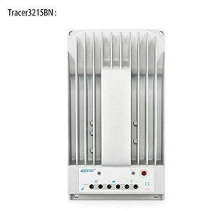 Contrôleur de panneau de charge solaire en aluminium Universal Tracer3215BN MPPT 12V / 24V 30A, travaux solaires, rendement élevé, ports RS-485 - Blanc de la marque Erduo image 0 produit