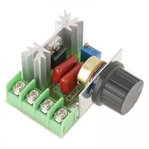Contrôleur de Vitesse du Moteur AC Régulateur de Tension Gradateurs LED 2000W AC 50-220V 25A de la marque Hilitand image 0 produit