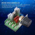 Contrôleur de Vitesse du Moteur AC Régulateur de Tension Gradateurs LED 2000W AC 50-220V 25A de la marque Hilitand image 3 produit