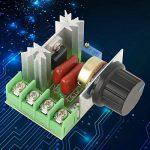 Contrôleur de Vitesse du Moteur AC Régulateur de Tension Gradateurs LED 2000W AC 50-220V 25A de la marque Hilitand image 4 produit