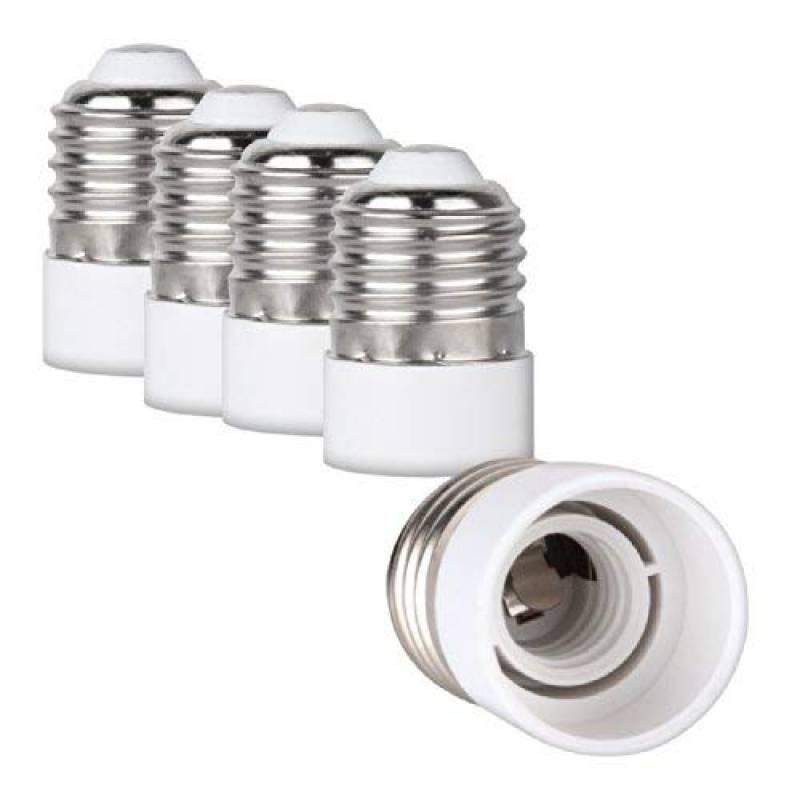 4x E14 SES à B22 Baïonnette Cap Ampoule Douille Lampe Adaptateur Convertisseur Support