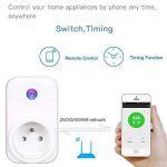 COOSA Wifi Prise Intelligente Smart Prise Connectée Compatible Android iOS Prise de Courant Intelligente avec Amazon Alexa/Google Home/TFTTT(Blanc+Lot 3) de la marque COOSA image 2 produit