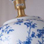 Cs Lampe De Table en Céramique Américain Country Salon Lampe De Table De Table De Chevet Chinois Lampe De Bureau en Porcelaine Bleue Blanche Plein Bronze de la marque Cs image 3 produit