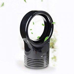 Cutogain Mini ventilateur portatif sans feuille de refroidissement portable sans lame, noir de la marque Cutogain image 0 produit