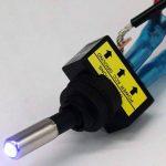 D DOLITY SPST Interrupteur à bascule 5pcs 6.3 Borne 15x - Bleu de la marque D DOLITY image 2 produit