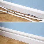 D-Line Kits de Goulottes   3015KIT001   Cachez et Protégez les Câbles Facilement   Goulotte Décorative   Blanc de la marque D-Line image 2 produit