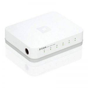 D-Link GO-SW-5G Mini Switch Gigabit 5 ports Ethernet Blanc de la marque D-link image 0 produit
