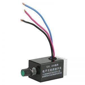 DC 12V 24V 10A Interrupteur Commutateur électronique de Régulation de Vitesse pour DIY Ventilateur de Chauffe Automobile, Dégivreur, Ventilateurs de la marque Walfront image 0 produit