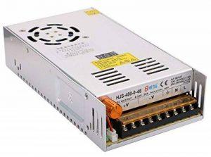 DC 48V 10A Commutation Source de Courant avec Affichage de Tension,Yeeco 110V / 220V 480W Convertisseur de Puissance Transformateur de Tension pour la Radio, Lumières de Bande de LED, Projet Informatique de la marque Yeeco image 0 produit