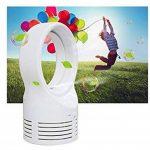 Décoration de maison Ventilateur sans pales Creative Fan Dormir Électrique Ventilateurs de refroidissement à deux vitesses Prise britannique Standard de la marque Lytshop image 3 produit
