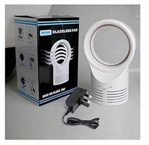 Décoration de maison Ventilateur sans pales Creative Fan Dormir Électrique Ventilateurs de refroidissement à deux vitesses Prise britannique Standard de la marque Lytshop image 0 produit