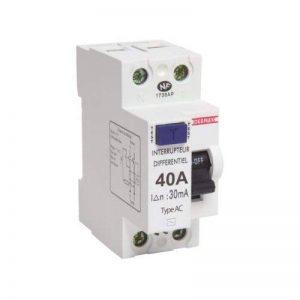Debflex 707472 Interrupteur différentiel 40 A type AC 30 mAh Blanc de la marque Debflex image 0 produit