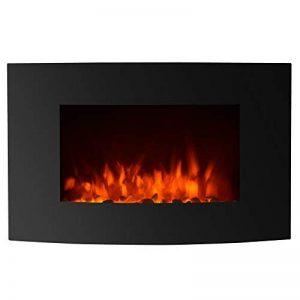 Decdeal Cheminée Electrique Encastrée LED Effet Flamme 900 W-1800 W Contrôle à Distance(73 x 54 x 15 cm) de la marque Decdeal image 0 produit