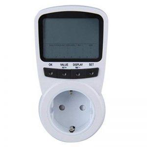 Dingcaiyi TS-1500 Compteurs d'énergie,Plug La Consommation d'Énergie Mètre Wattmètre Prise Compteur d'Énergie de Compteur,avec écran LCD rétro-éclairé Protection Contre Les surcharges de la marque Dingcaiyi image 0 produit