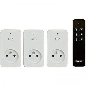 DiO Connected Home 3 prises télécommandées ON/OFF 2300W + télécommande 3 canaux DI-O First (Chacon 54795) de la marque DiO Connected Home image 0 produit