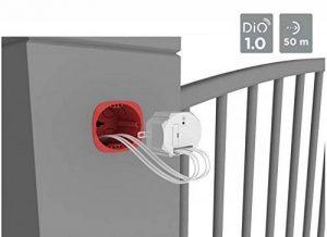 DiO Connected Home 54552 Module Contact Sec pour Portail ou gâche, Blanc de la marque DiO Connected Home image 0 produit