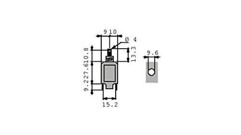 Gris Clair Vemer Ve344800/Interrupteur cr/épusculaire astronomique Memo Ast1/DIN 1/Programme Barre avec IR