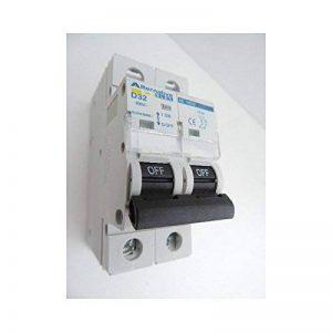Disjoncteur 32A 2P courbe D 6kA bornes vis norme CE ALTERNATIVE ELEC AE14532 de la marque Alternative Elec image 0 produit