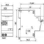 disjoncteur différentiel 16a 30ma TOP 3 image 1 produit