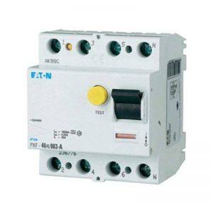 Disjoncteur FI Moeller 4 pôles 40A-Equipement tableau électrique de la marque Eaton image 0 produit