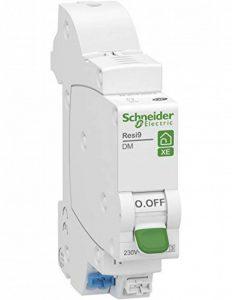 disjoncteur phase + neutre - schneider resi9 xe - 10 ampères - courbe c - r9efc610 de la marque Schneider electric image 0 produit