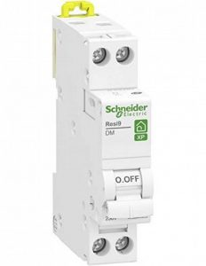 disjoncteur phase + neutre - schneider resi9 xp - 10 ampères - courbe c - r9pfc610 de la marque Schneider electric image 0 produit