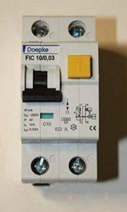 Doepke FIC 10/0,03–10A 30mA Type C Bipolaire à de la marque Doepke FIC image 0 produit