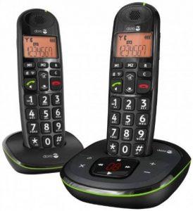 Doro Phone EASY 105WR DUO Téléphones Sans fil Répondeur Ecran de la marque Doro image 0 produit