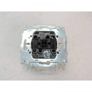 Double interrupteur va et vient 10A sans plaque ni manette INITIA ARNOULD 69002 de la marque Arnould image 0 produit