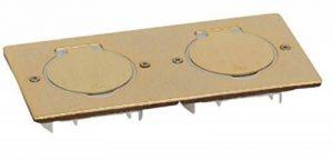 double prise de sol - rectangulaire - bronze - arnould 48296 de la marque Arnould image 0 produit