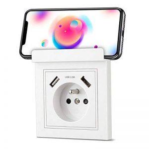 double prise électrique murale TOP 10 image 0 produit