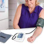 Duronic BPM150 Tensiomètre électronique pour bras avec brassard ajustable 22-42 cm - Mesure automatique de la tension artérielle - Certifié Médicalement – Large écran LCD de la marque Duronic image 1 produit