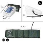 Duronic BPM150 Tensiomètre électronique pour bras avec brassard ajustable 22-42 cm - Mesure automatique de la tension artérielle - Certifié Médicalement – Large écran LCD de la marque Duronic image 2 produit