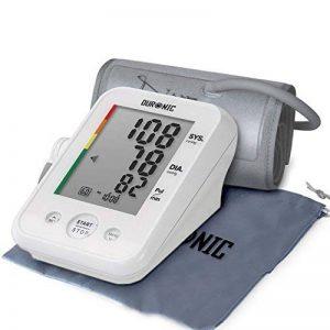 Duronic BPM150 Tensiomètre électronique pour bras avec brassard ajustable 22-42 cm - Mesure automatique de la tension artérielle - Certifié Médicalement – Large écran LCD de la marque Duronic image 0 produit