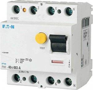 Eaton 236778fi de disjoncteur 4pôles 40A 300mA pxf–40/4/0,3a de la marque Eaton image 0 produit