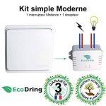 EcoDring Interrupteur sans Fil sans Pile et Son récepteur 1000W - Garantie 3 Ans - portée intérieure 30 mètres, Blanc RXTX de la marque EcoDring image 3 produit