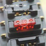 EEFUN 80 PCS Assortis Voiture Fusible à Lame Standard, Fusible Mecanique, Voiture Kit de Fusible à Lame Standard, pour Véhicule Auto Moto Voiture Bateau Camion, 3A 5A 7.5A 10A 15A 20A 25A 30A 35A 40A de la marque EEFUN image 1 produit