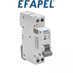 Efapel Modus 55–disjoncteur mt-1p + neutre 4.5kA concava C 16A Modus de la marque Efapel image 0 produit